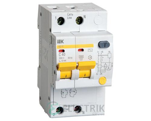 Дифференциальный-автоматический-выключатель-АД12-2Р-40А-10мА-IEK MAD10-2-040-C-010