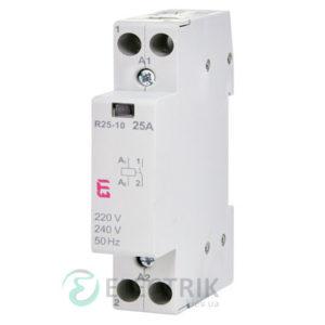 Контактор модульный R 25-10 25A 230V AC 1NO, ETI (Словения) 2463500