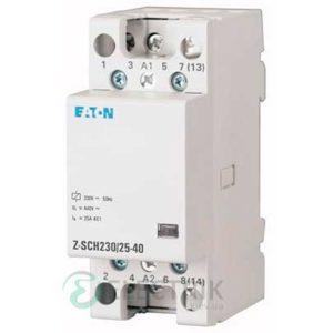 Модульный контактор 230В, 25А, 4НО EATON Z-SCH230/25-40 248847