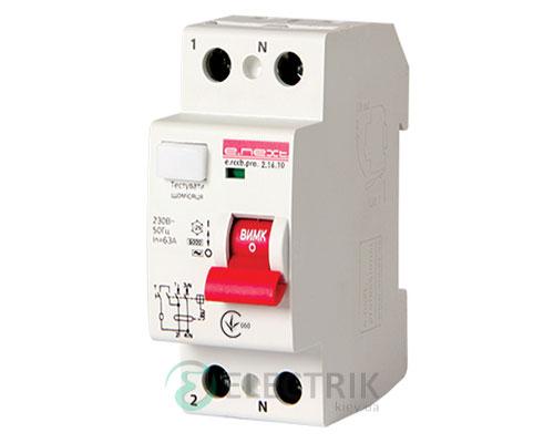 Устройство защитного отключения (УЗО) e.rccb.pro.2.25.10, 2P 25 А 10 мА тип AC, E.NEXT