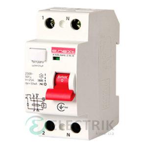 Устройство защитного отключения (УЗО) e.rccb.stand.2.40.30 2р, 40А, 30mA тип AC, E.NEXT