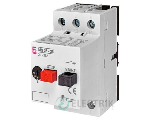 Автоматический выключатель защиты двигателя MS25-25 4600320 ETI