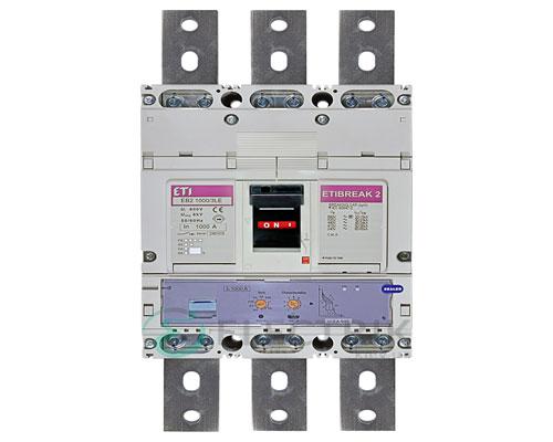 Автоматический выключатель EB2 1000/3LЕ 1000А (50кА) 3p ETI 4672210