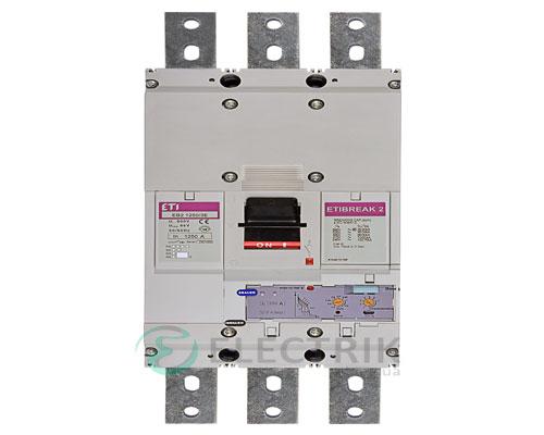 Автоматический выключатель EB2 1250/3Е 1250А (70кА) 3p ETI 4672240
