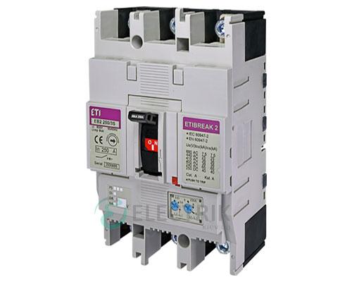 Автоматический выключатель EB2 250/3S 250А (36кА) 3p ETI 4671083