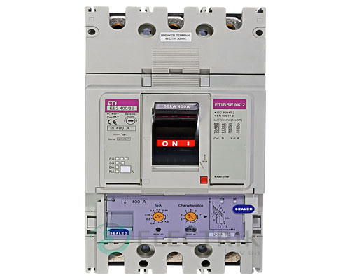 Автоматический выключатель EB2 400/3Е 400А (50кА) 3p ETI 4671112