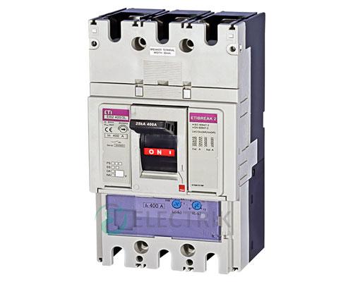Автоматический выключатель EB2 400/3L 400А (25кА) 3p ETI 4671092