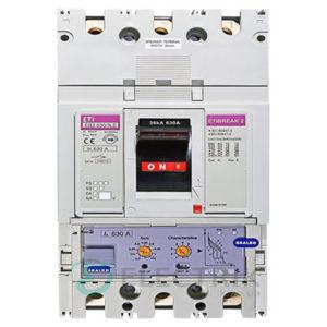 Автоматический выключатель EB2 630/3LЕ 630А (36кА) 3p ETI 4671121