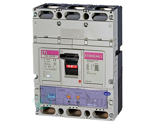 Автоматический выключатель EB2 800/3Е 800А (70кА) 3p ETI 4672190