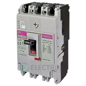 Автоматический выключатель EB2S 160/3LF 125А (16кА) 3p ETI 4671810