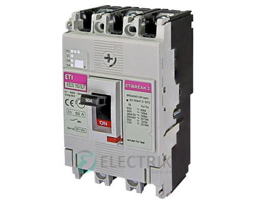 Автоматический выключатель EB2S 160/3LF 50А (16кА) 3p ETI 4671806