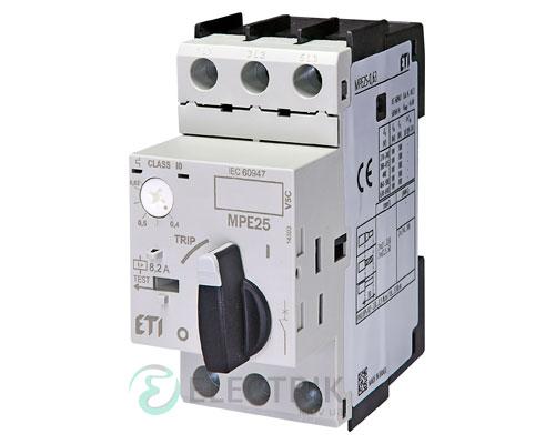 Автоматический выключатель защиты двигателя MPE25-0,63 4648004 ETI