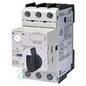 Автоматический выключатель защиты двигателя MPE25-2,5 4648007 ETI