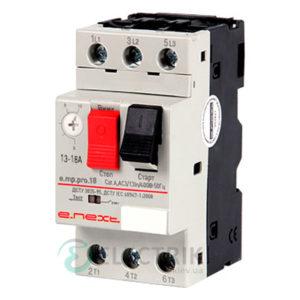 Автоматический выключатель защиты двигателя e.mp.pro.18, 3P In=18А Ir=13-18А, E.NEXT