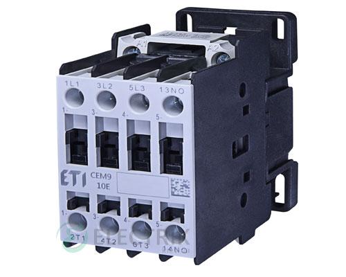 Контактор CEM 09.10 110V/AC 9A 4kW AC3, ETI (Словения)