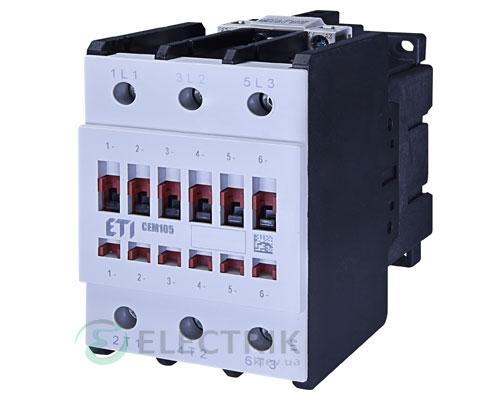 Контактор CEM 105.11 400V/AC 105A 55kW AC3, ETI (Словения)