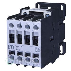 Контактор CEM 12.01 230V/AC 12A 5,5kW AC3, ETI (Словения)