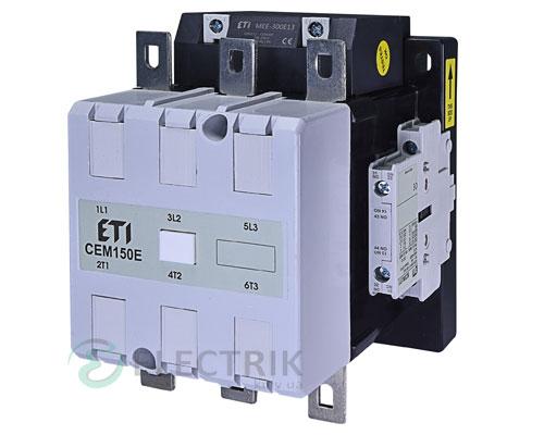 Контактор CEM 150Е.22 250V/AC/DC 150A 75kW AC3, ETI (Словения)