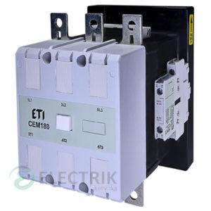 Контактор CEM 180.22 230V/AC 180A 90kW AC3, ETI (Словения)