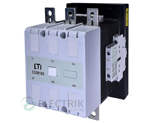 Контактор CEM 180.22 400V/AC 180A 90kW AC3, ETI (Словения)