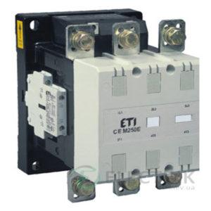 Контактор CEM 250.22 400V/AC 250A 132kW AC3, ETI (Словения)