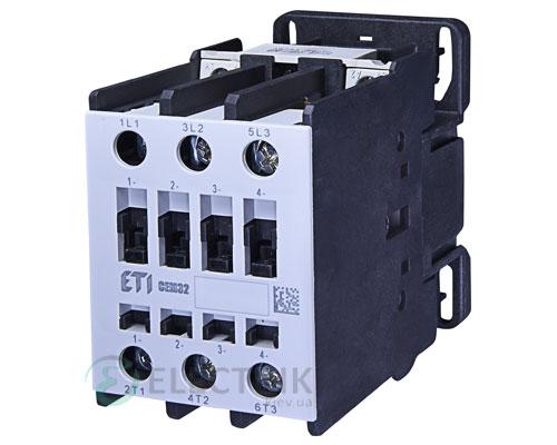 Контактор CEM 32.00 110V/AC 32A 15kW AC3, ETI (Словения)