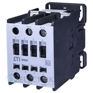 Контактор CEM 32.10 48V/AC 32A 15kW AC3, ETI (Словения)