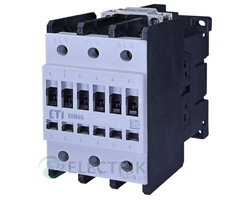 Контактор CEM 65.11 230V/AC 65A 30kW AC3, ETI (Словения)