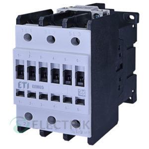 Контактор CEM 65.11 400V/AC 65A 30kW AC3, ETI (Словения)