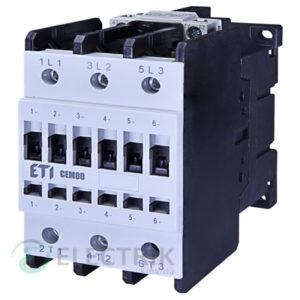Контактор CEM 80.11 230V/AC 80A 37kW AC3, ETI (Словения)