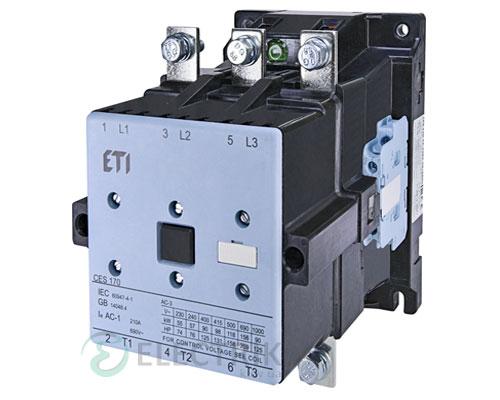 Контактор CES 170.22 230V/AC 170A 90kW AC3, ETI (Словения)