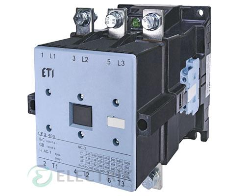 Контактор CES 400.22 230V/AC 400A 200kW AC3, ETI (Словения)
