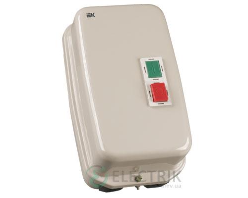 Контактор КМИ34062 в оболочке с индикацией 40 А 230 В/AC3 IP54 1НО+1НЗ, IEK