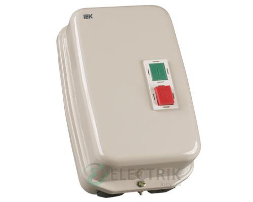 Контактор КМИ34062 в оболочке с индикацией 40 А 400 В/AC3 IP54 1НО+1НЗ, IEK