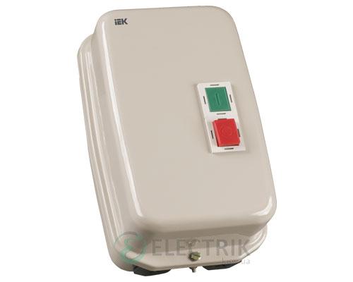 Контактор КМИ34062 в оболочке 40 А 380 В/AC3 IP54 1НО+1НЗ, IEK