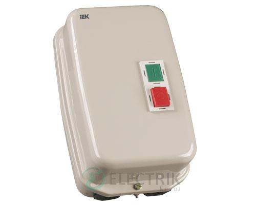 Контактор КМИ35062 в оболочке с индикацией 50 А 230 В/AC3 IP54 1НО+1НЗ, IEK