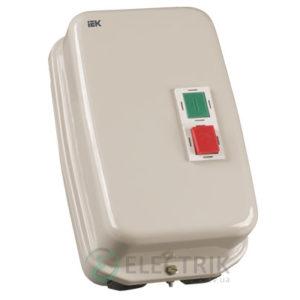 Контактор КМИ35062 в оболочке с индикацией 50 А 400 В/AC3 IP54 1НО+1НЗ, IEK