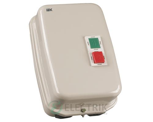 Контактор КМИ35062 в оболочке 50 А 220 В/AC3 IP54 1НО+1НЗ, IEK