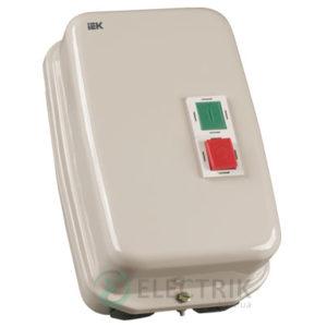 Контактор КМИ35062 в оболочке 50 А 380 В/AC3 IP54 1НО+1НЗ, IEK