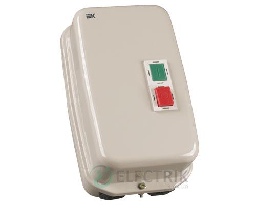 Контактор КМИ46562 в оболочке с индикацией 65 А 230 В/AC3 IP54 1НО+1НЗ, IEK