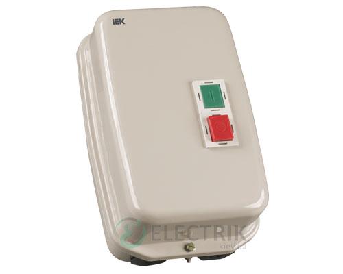 Контактор КМИ46562 в оболочке с индикацией 65 А 400 В/AC3 IP54 1НО+1НЗ, IEK