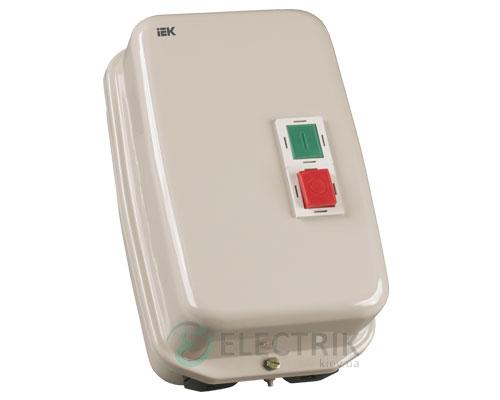 Контактор КМИ48062 в оболочке с индикацией 80 А 230 В/AC3 IP54 1НО+1НЗ, IEK