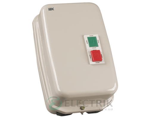 Контактор КМИ48062 в оболочке с индикацией 80 А 400 В/AC3 IP54 1НО+1НЗ, IEK
