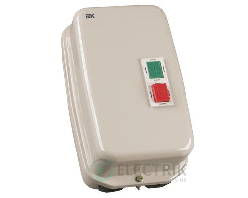 Контактор КМИ48062 в оболочке 80 А 220 В/AC3 IP54 1НО+1НЗ, IEK