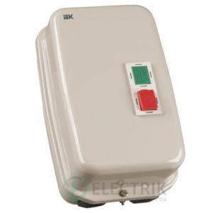 Контактор КМИ48062 в оболочке 80 А 380 В/AC3 IP54 1НО+1НЗ, IEK