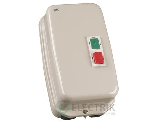 Контактор КМИ49562 в оболочке с индикацией 95 А 230 В/AC3 IP54 1НО+1НЗ, IEK