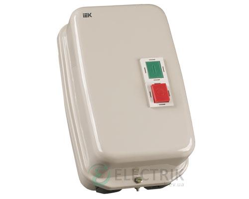 Контактор КМИ49562 в оболочке с индикацией 95 А 400 В/AC3 IP54 1НО+1НЗ, IEK