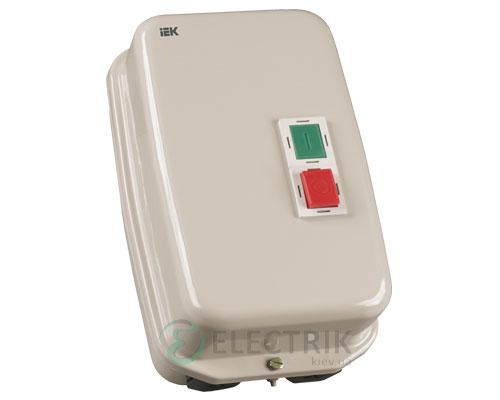 Контактор КМИ49562 в оболочке 95 А 220 В/AC3 IP54 1НО+1НЗ, IEK
