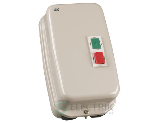 Контактор КМИ49562 в оболочке 95 А 380 В/AC3 IP54 1НО+1НЗ, IEK