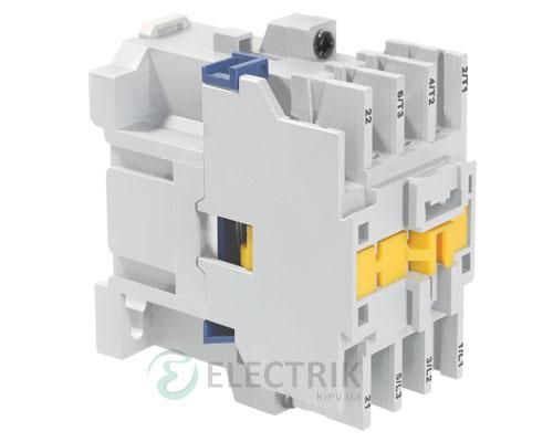 Контактор электромагнитный ПМ12-010100 10 А 400 В/AC3 1НО, IEK
